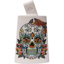 Latin Percussion LP204C-SS Cloche Black Beauty Sugar Skull