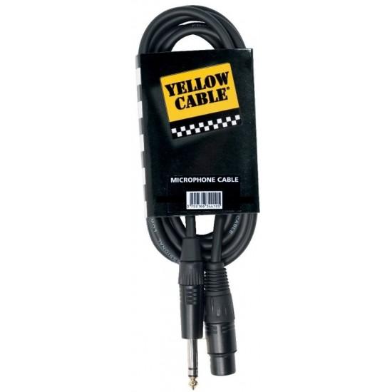 Yellow Cable M05J-S Jack/XLR Femelle 5M