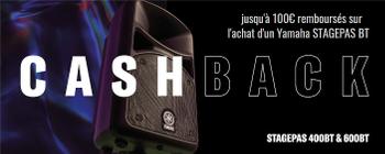 Yamaha Cashback Stagepas BT