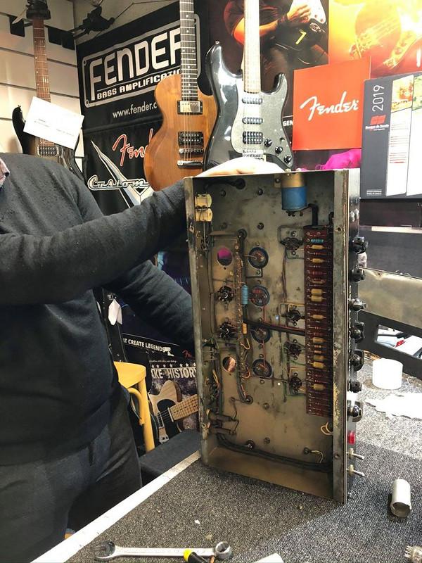 Atelier réparation guitares