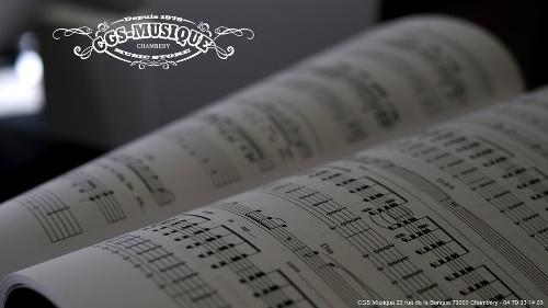 CGS Musique Espace Partitions