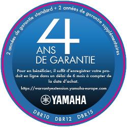 Garantie Yamaha 4 ans