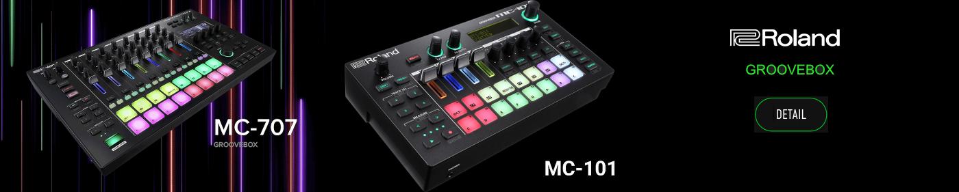 Roland MC-101 - MC-707