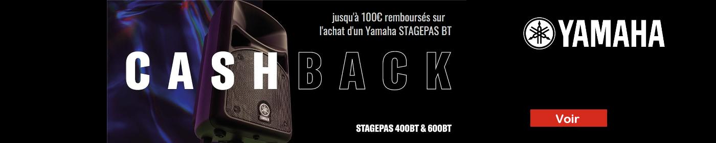 Cashback Yamaha StagePas