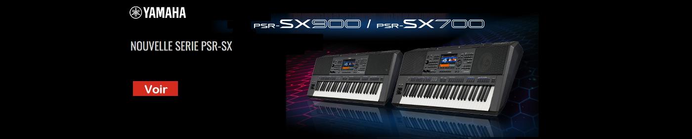 Nouveaux Arrangeurs Yamaha PSR-SX