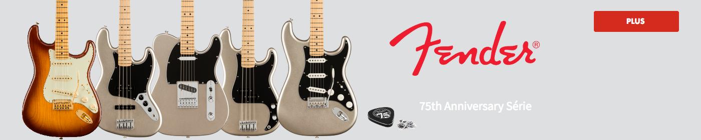 Fender 75ème Anniversaire
